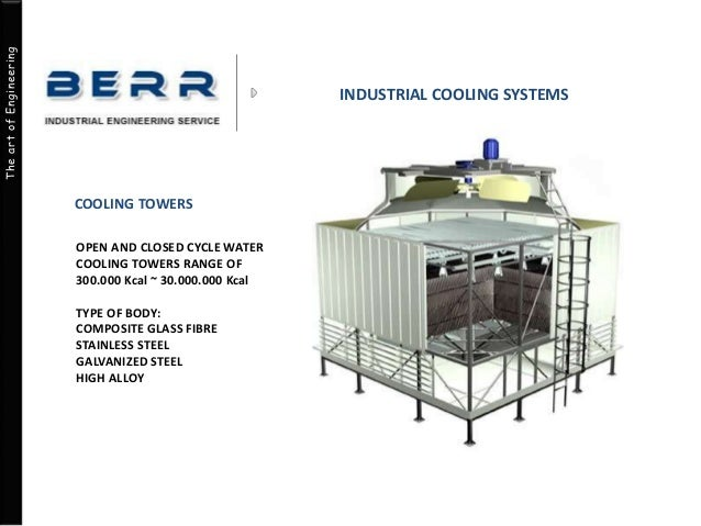 Industrial Cooling Units : Industrial cooling systems construction engineering consulting