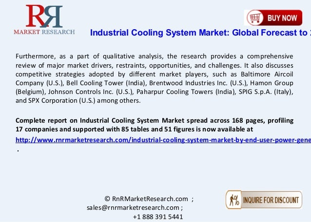 Industrial Cooling System Market Projected to Surge 5 0% CAGR by 2021