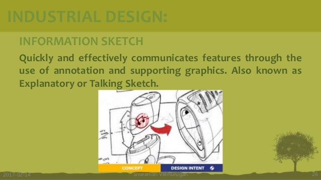 INFORMATION SKETCH Quickly and effectively communicates features through the use of annotation and supporting graphics. Al...