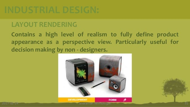 LAYOUT RENDERING Contains a high level of realism to fully define product appearance as a perspective view. Particularly u...