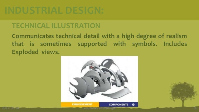TECHNICAL ILLUSTRATION Communicates technical detail with a high degree of realism that is sometimes supported with symbol...