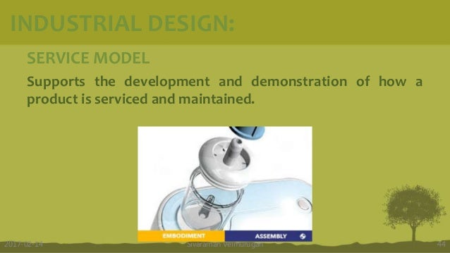 SERVICE MODEL Supports the development and demonstration of how a product is serviced and maintained. Sivaraman Velmurugan...