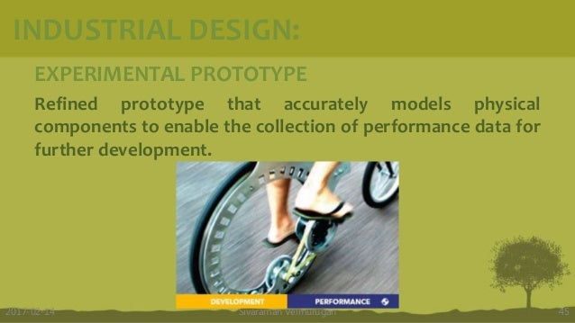 EXPERIMENTAL PROTOTYPE Refined prototype that accurately models physical components to enable the collection of performanc...