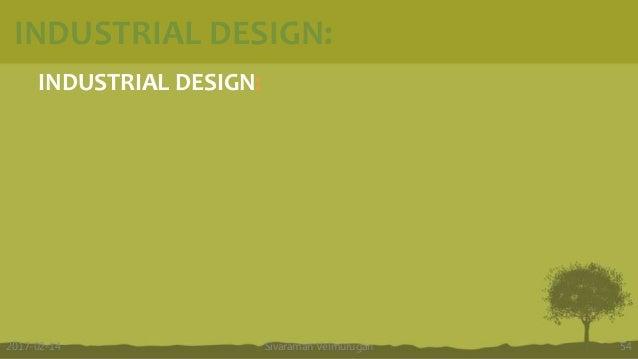 INDUSTRIAL DESIGN: Sivaraman Velmurugan 542017-02-14 INDUSTRIAL DESIGN: