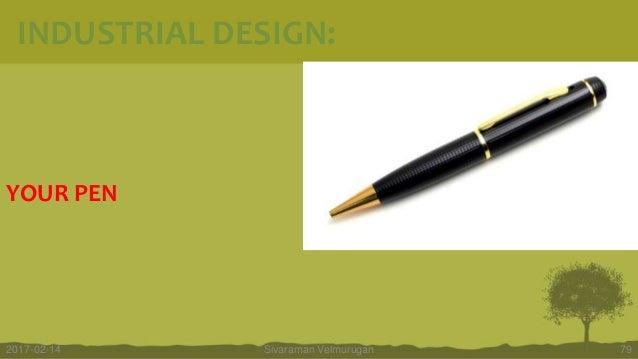 YOUR PEN Sivaraman Velmurugan 792017-02-14 INDUSTRIAL DESIGN:
