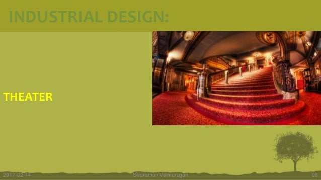 THEATER Sivaraman Velmurugan 982017-02-14 INDUSTRIAL DESIGN:
