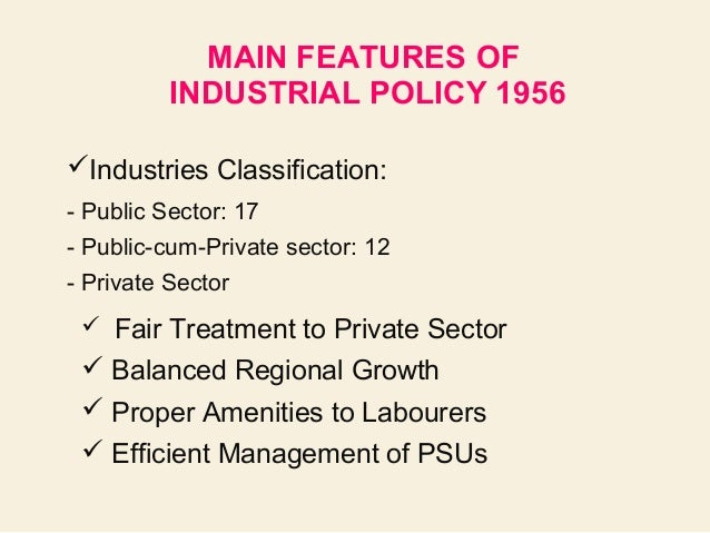 importance of new industrial policy in 1991 Shanta devarajan uses examples to explain why industrial policy often fails, although industrialization has been the goal of nearly every government.