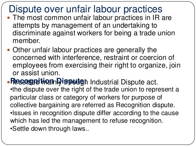 the industrial dispute Causes of industrial disputes can be broadly classified into two categories: economic and non-economic causes the economic causes will include issues relating to compensation like wages.