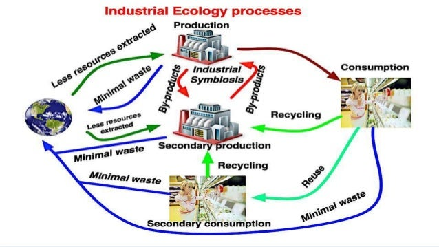 industrial ecology In this video we will look at the domain of industrial ecology, a relatively new interdisciplinary area that takes a holistic perspective to the modeling, designing and management of coupled ecological and industrial systems a paradigm that looks at our industrial infrastructure from the perspective of natural ecologies and biomimicry we.
