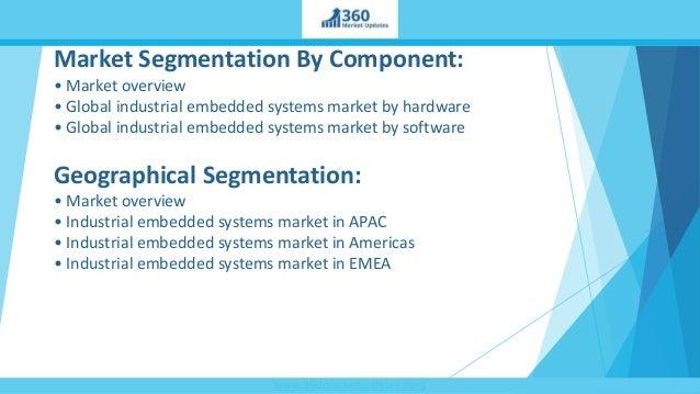 Embedded System Market: Global Industry Analysis and Opportunity Assessment 2016-2026