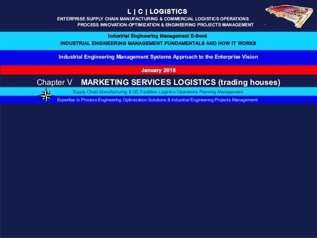 Industrial Engineering Management Systems Approach to the Enterprise Vision L | C | LOGISTICS ENTERPRISE SUPPLY CHAIN MANU...