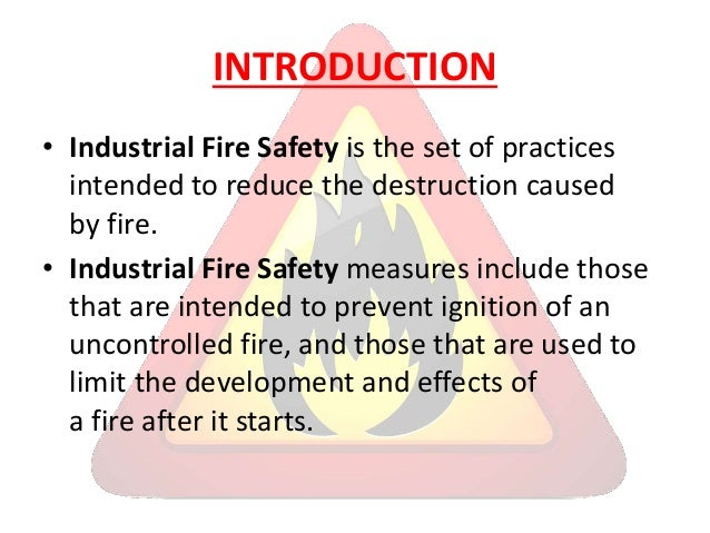 fire safety introduction Home fire safety 01 page copyright 2017 cfa years 710 home fire safety lessons for introduction in some places, natural hazards such as bushfires, cyclones and floods.