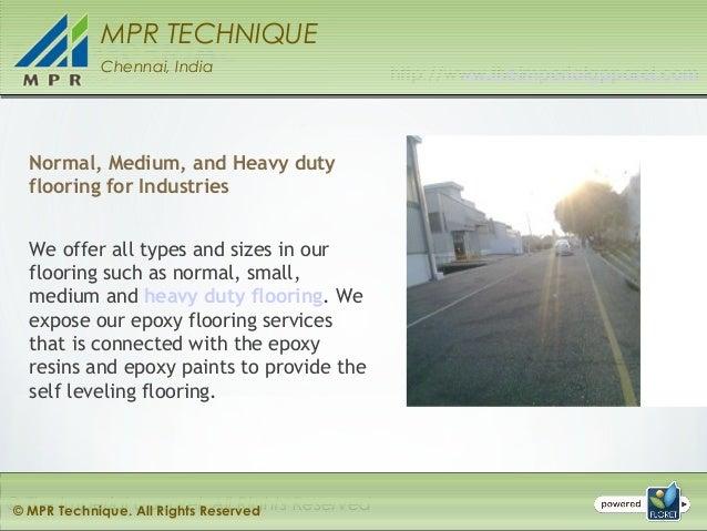 Epoxy Flooring - Epoxy Floor Paint - Epoxy Coating Services