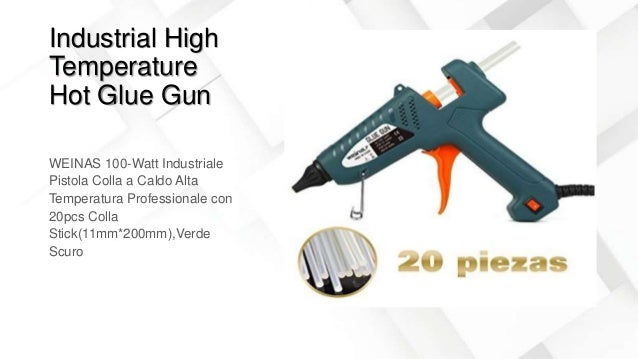 Industrial High Temperature Hot Glue Gun WEINAS 100-Watt Industriale Pistola Colla a Caldo Alta Temperatura Professionale ...