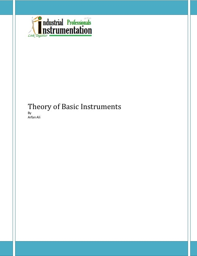 Theory of Basic InstrumentsByArfan Ali