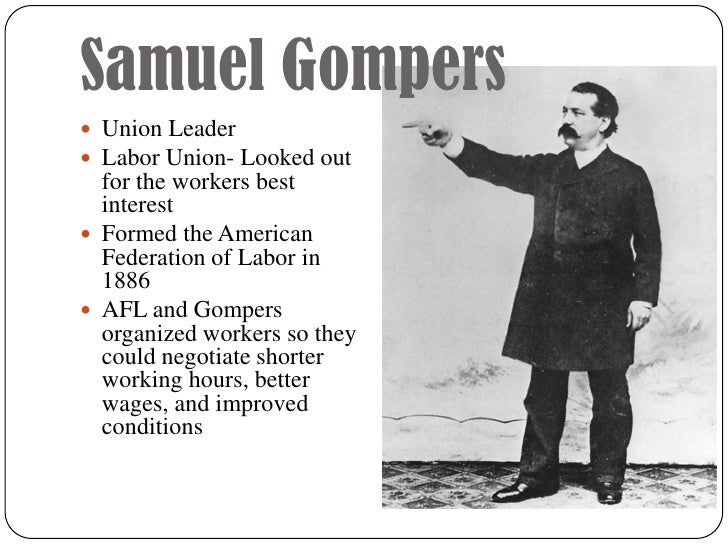 Samuel Gompers Letter on labor in industrial society to Judge Peter Grosscup September 1894