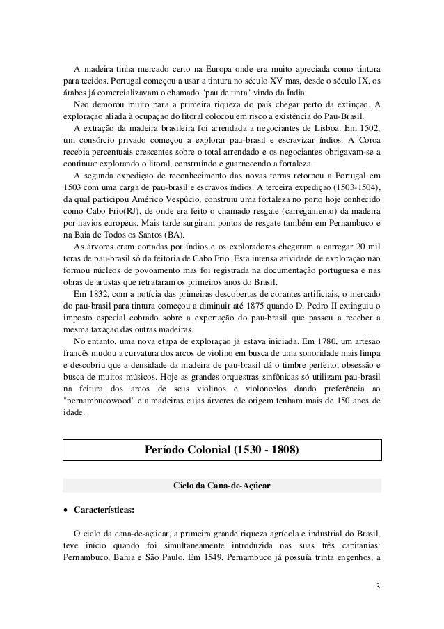 Industrialização Brasileira - 1° Período (1500 - 1808) Slide 3