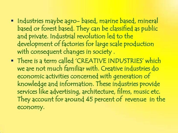 industrialisation in sociology