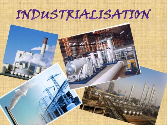 need for industrialization in india