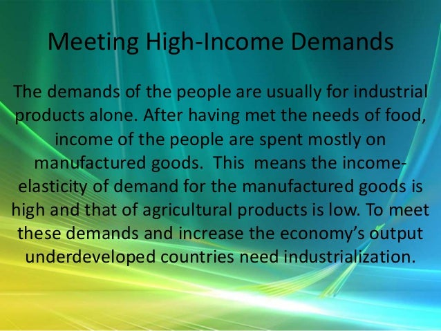 need for industrialisation in india India: industrial policy, liberalization and impact  in this model need of people is not deliberately considered, but it is believed that free markets will .
