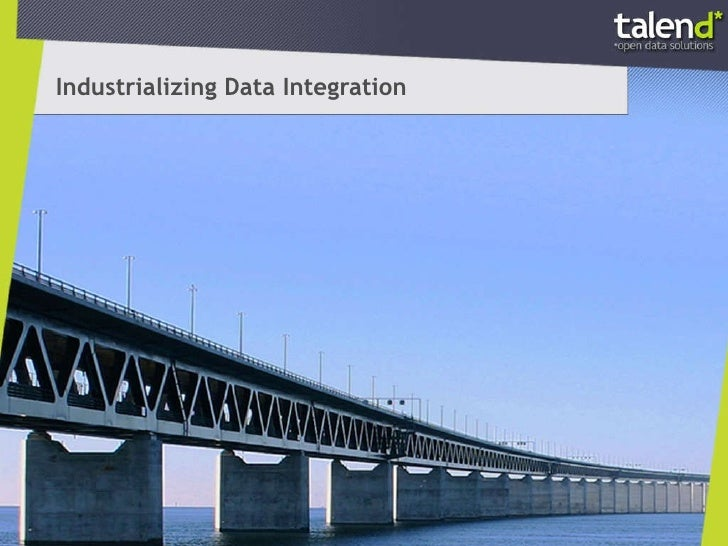 Industrializing Data Integration