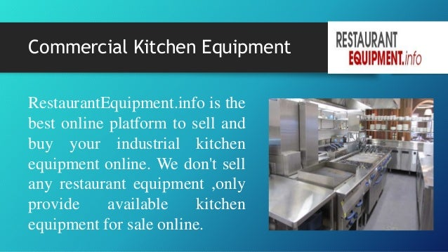 Commercial Kitchen Equipment Restaurantequipment