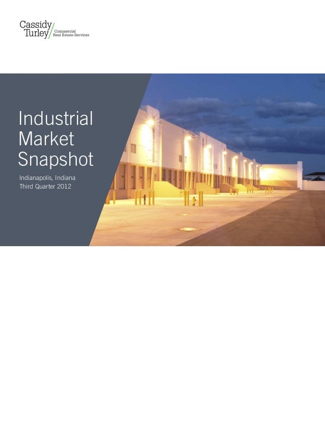 IndustrialMarketSnapshotIndianapolis, IndianaThird Quarter 2012