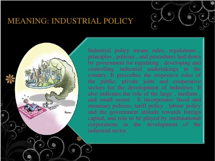 Industrial policy,1991 Slide 3