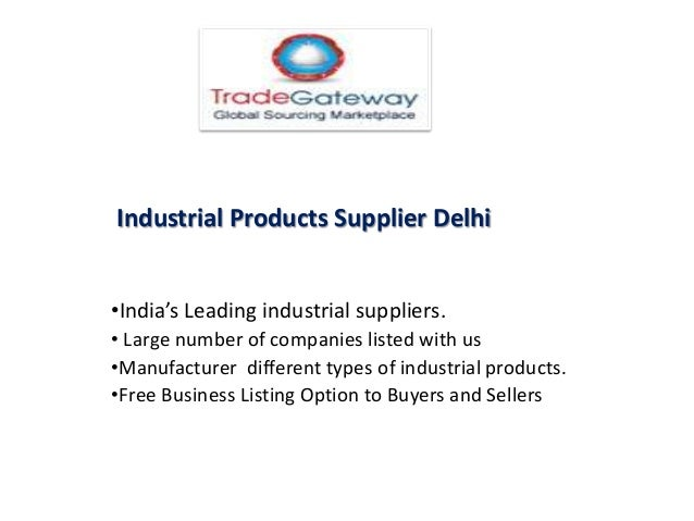 TYPES OF INDUSTRIAL PRODUCTS EBOOK