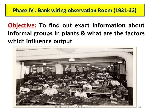 industrial psychology rh slideshare net Observation Room Sign Revenue Codes for Observation
