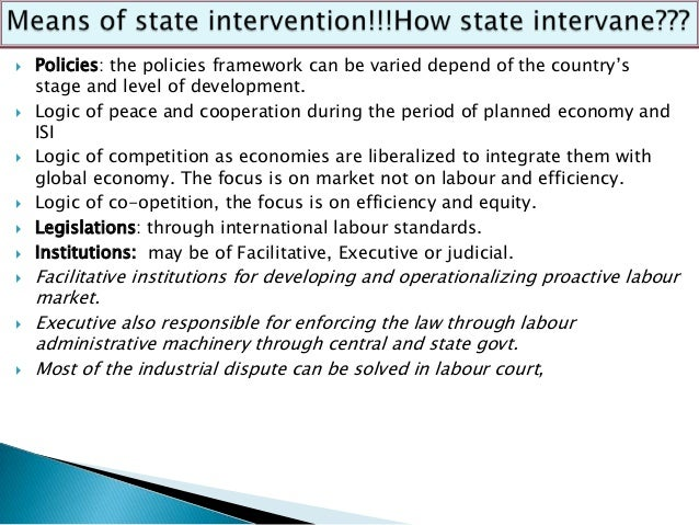 Theories of state intervention(Review Chapter 1 for general theories of IR and the role of the State)In Western democratic...
