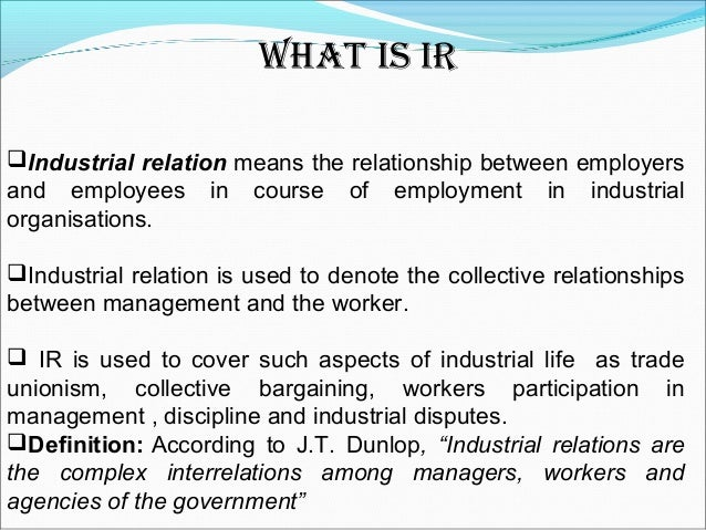employee industrial relations and strategic hrm Systems based on an employment policy and workforce strategy  378 figure 1  the relationship between strategic hrm and performance source: armstrong.