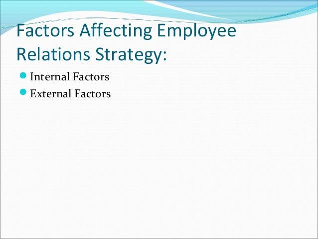 internal and external factors affecting human resource management