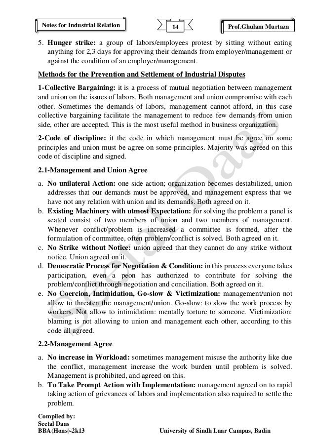industrial relations exam notes Understand exam guidelines and format when can you start with exam prep immediately after receiving your study material by: studying making notes preparing and submitting assignments contact lectures or fellow students when experiencing challenges.
