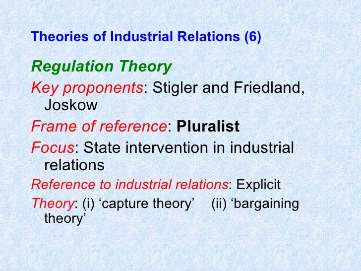 theories of industrial relations Industrial relations: theory and practice [paul edwards] on amazoncom free  shipping on qualifying offers this is a completely revised and updated.