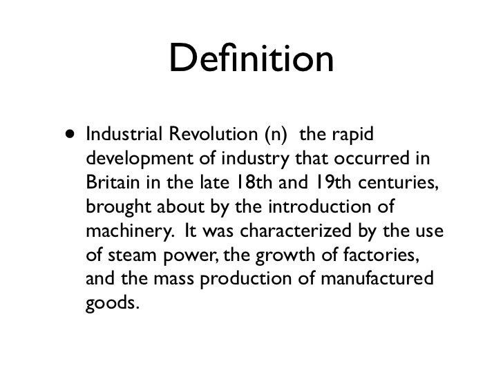 reasons why the industrial revolution occurred in europe Western civilization the industrial revolution history reasons to explain why the industrial revolution occurred in europe some important reasons to.