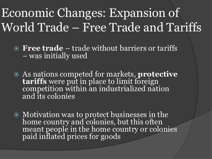 industrial revolution economic changes