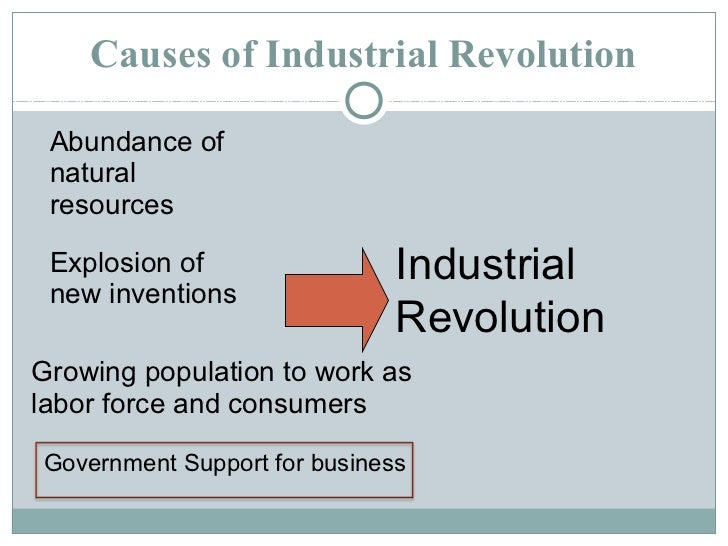 Dbq essay on the industrial revolution