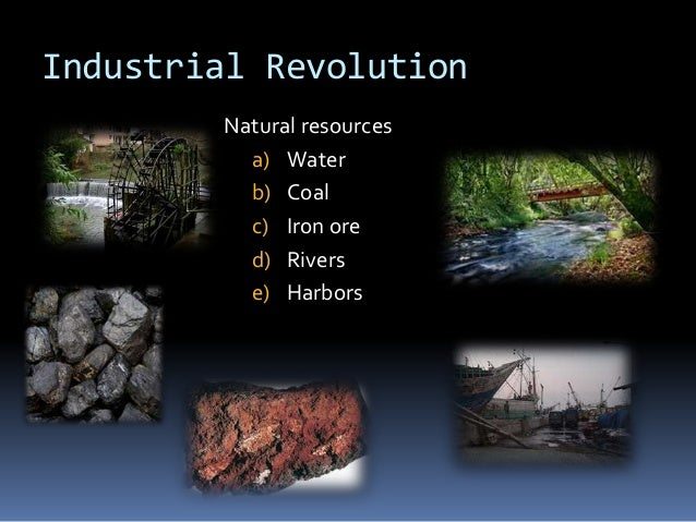 Natural Resources In The S England