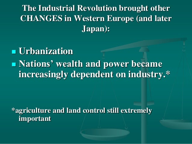 life was altered permanently after the industrial revolution Read about how industrialization impacts economic growth in less  for  example, when britain was industrializing, total national income increased by  more than 600% from 1801 to 1901  these effects have proven to be  permanent and cumulative  and how the industrial revolution changed human  standards of living.