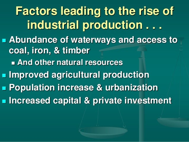 What factors led to urbanization in great britain during the first industrial revolution