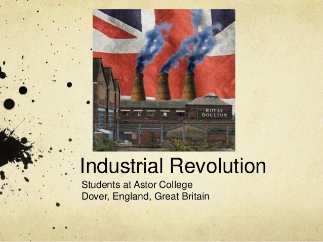 Industrial Revolution Students at Astor College Dover, England, Great Britain