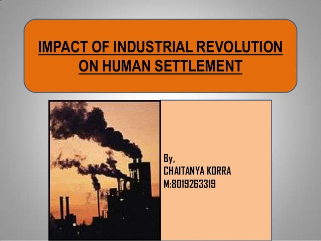 impact of industrial revolution to the hospitality industry