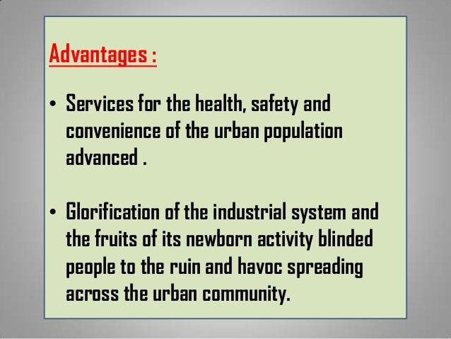 disadvantages of industrial revolution