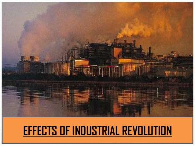 Industrial revolution impacts on human settlements