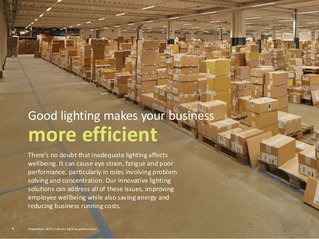 There's no doubt that inadequate lighting affects wellbeing. It can cause eye strain, fatigue and poor performance, partic...