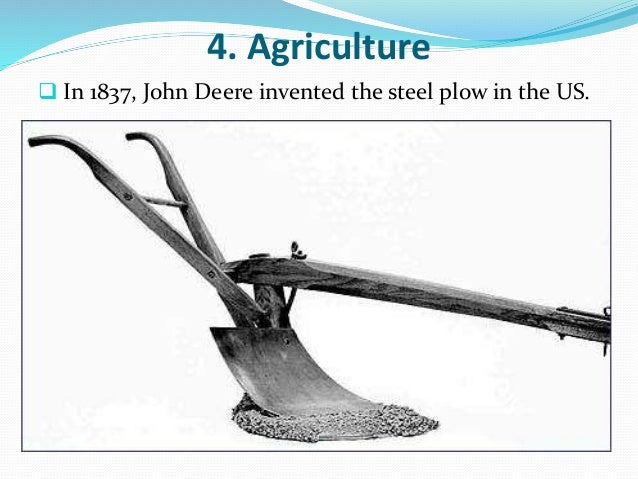 john deere steel plow When john deere crafted his famous steel plow in his blacksmith shop in 1837,  he also forged the beginnings of deere & company—a company that today.