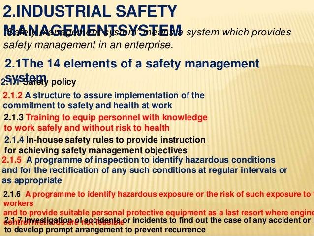 Disaster preventation