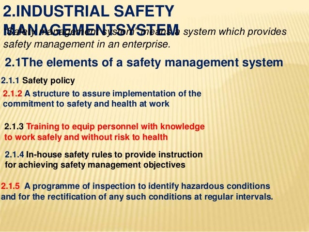 Industrial safety system