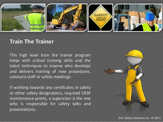 Industrial Safety Courses By D B Safety Solutions